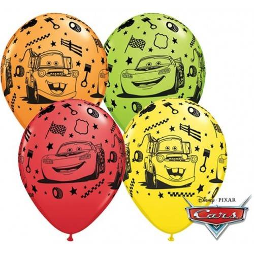 BALON DO HELU CARS - AUTA 1SZT