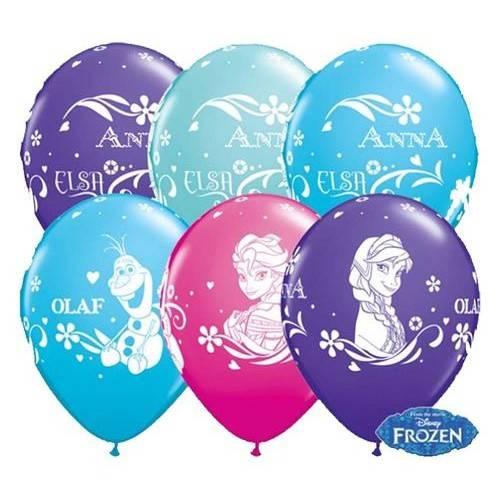 BALON DO HELU QL 11` z nadr. `Anna, Elsa & Olaf ` 1SZT