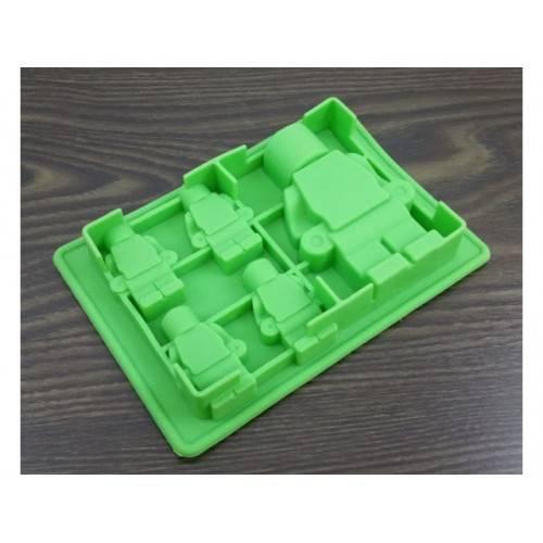 Silikonowa forma do czekolady Ludzik LEGO