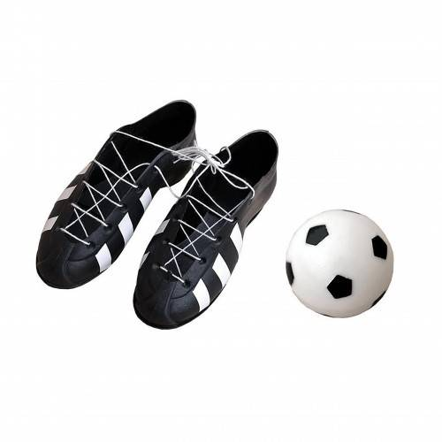 Piłka + buty PCV kpl. 3szt.