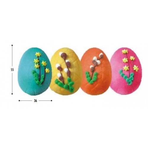 Jajko dekorowane połówka
