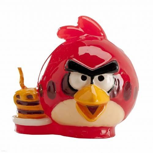 Świeczka urodzinowa na tort Angry Birds