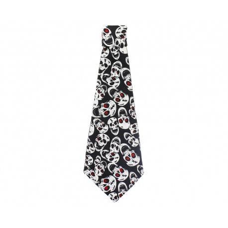 Krawat z Czaszkami