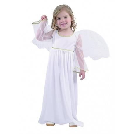 Strój dla dzieci Aniołek (sukienka długa, skrzydła), rozm. 92/104 cm
