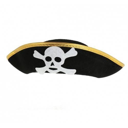 Kapelusz Pirata, złote obszycia