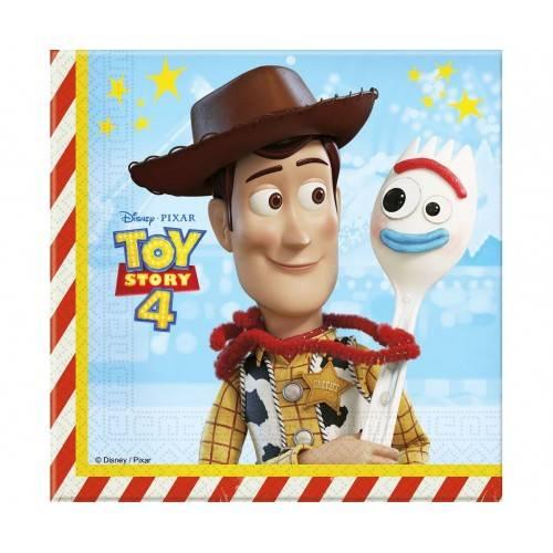 """SERWETKI PAPIEROWE DWUWARSTWOWE """"Toy Story 4"""""""
