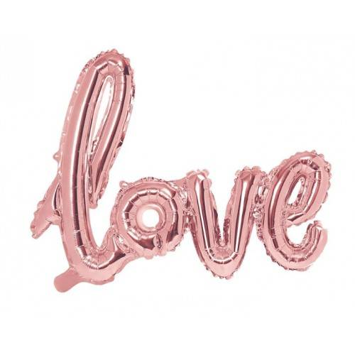 "BALON FOLIOWY ""LOVE"""