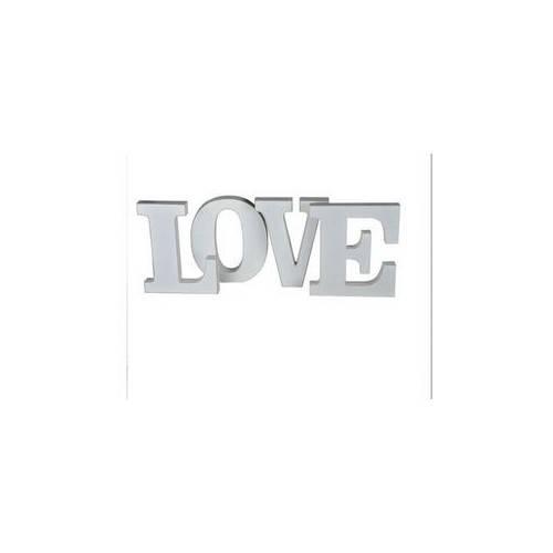 "DREWNIANE LITERY ""LOVE"""