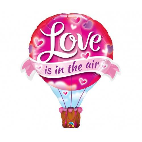 "BALON FOLIOWY ""LOVE IS IN THE AIR"""
