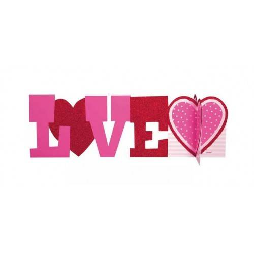"STROIK 3D ""LOVE"" Z SERCEM"