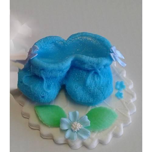 Para niebieskich bucików 1szt.
