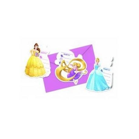 """Zaproszenia z kopertą """"Princess Heartstrong"""""""