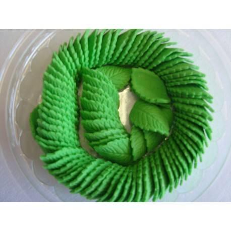 Liść średni zielony 20szt