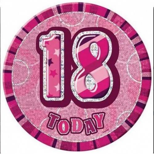 """KOTYLION URODZINOWY """"18 TODAY"""""""