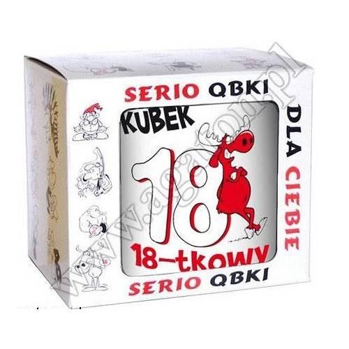 "KUBEK ""QBEK 18-TKOWY"