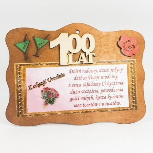 DESKA - 100 lat, z okazji urodzin