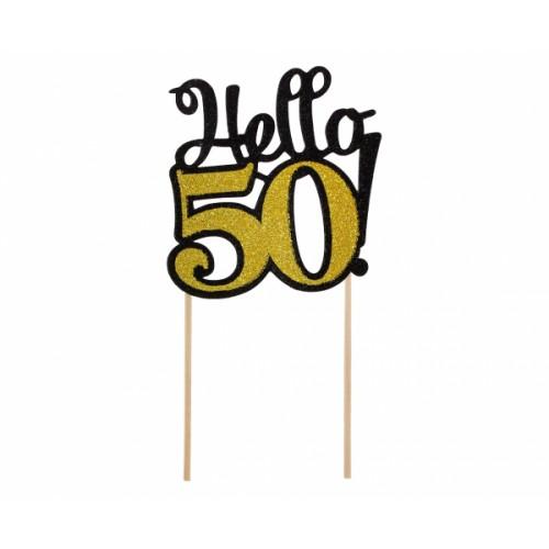 TOPPER NA TORT HELLO 50