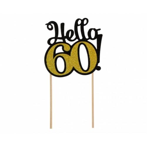 TOPPER NA TORT HELLO 60