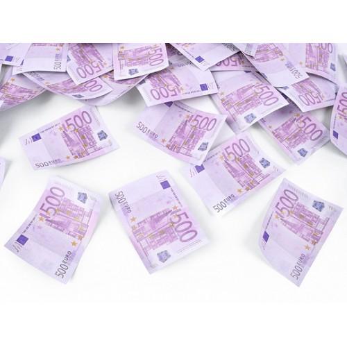 TUBA 60 CM KONFETTI 500 EURO