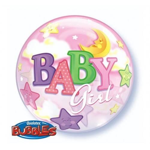 BALON FOLIOWY BABY GIRL 1SZT
