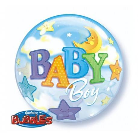 BALON FOLIOWY BABY BOY 1SZT